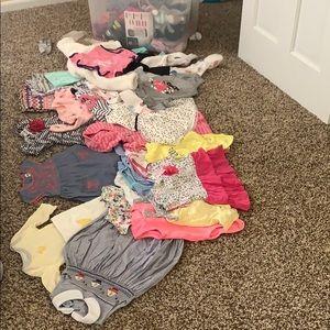 Bulk baby clothes- 3mo to 12 mo